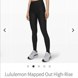 Lululemon Black Mapped Out Legging